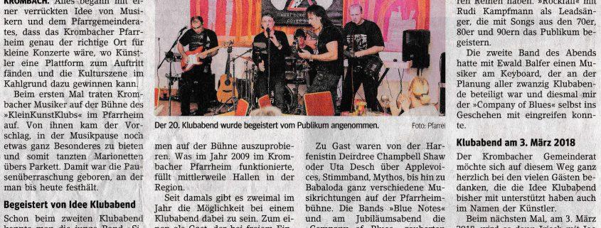 Gelnhäuser Neue Zeitung (GNZ) vom 01.12.2017