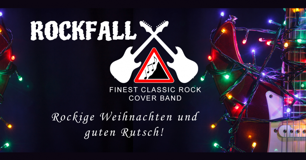 rockige weihnachten rockfall band. Black Bedroom Furniture Sets. Home Design Ideas