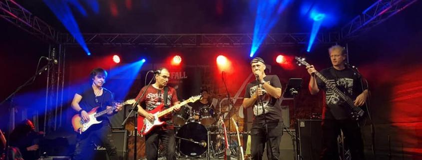 Rockfall Band auf dem Lamboyfest 2018