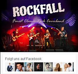 Facebook Seite von Rockfall