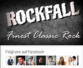 zur Facebook Seite von Rockfall Band